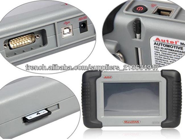 Autel MaxiDAS DS708 professionnel outil de balayage automatique en ligne de mise à jour multi-langue
