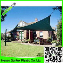 hot area used high quality only sun shadow HDPE sun shade sail in sand color,UV block fabric shade sail on hot sale