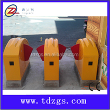 Automatic flap barrier for access control for the kindergarten with gate access control system