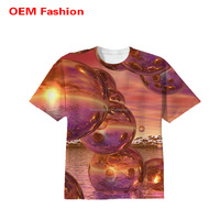 High qualtiy men fashion t shirts with sublimation