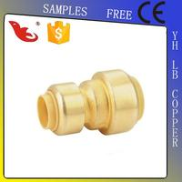 LB-GUTEN TOP Brass Lead Free Copper Push Fit Fitting/Plastic/Elbow/Coupling/Union