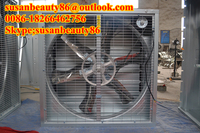 Industrial wall mounted ventilation exhaust fan for cooling