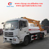 Dongfeng 22M high lifting platform operation truck with water function from original factory