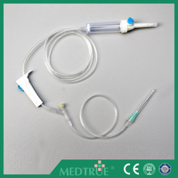 Factory Price Disposable Infusion Set With CE/ISO Certifition (MT58001210)
