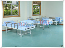 High Quality Portable KD Structure 2 Cranks Manual Hospital Bed