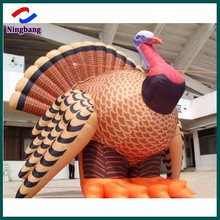 NB-CT20108 NingBang Outdoor Giant Vivid inflatable turkey for Advertising
