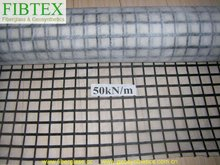 Fiberglass geo composite grids
