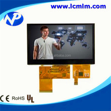 480*272 capacitance touch display 4.3 inch TFT LCD screen