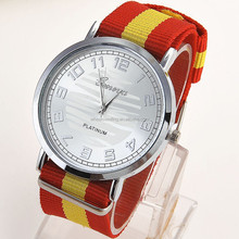 free sample most popular products leather watch ,geneva watches,cheap man watch