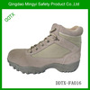 """DDTX-FA016 high quality sand color suede leather army military tactical combat desert boots 5"""""""