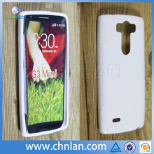 8 color for choice solid white plain style G3 mini tpu phone cases For LG G3 mini cover case