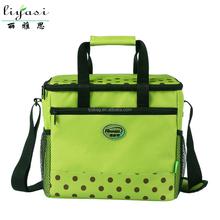 2015 Hot Selling Oxford Fabric Insulated Cooler Lunch Bag,Long Strap Shoulder Cooler Bag Handbag