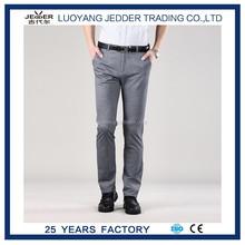 Nuestra marca JEDDER straight slim fit pantalones nuevos men'scasual vestido formal en hombres