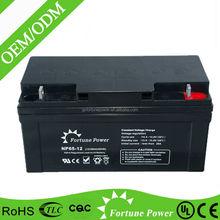 Best trade assurance 12v 65ah sealed lead acid ups battery for computer