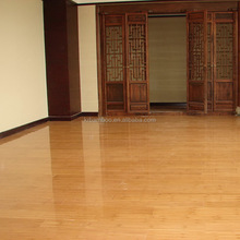 2015 Chinese Bamboo Made Glossy 10mm Carbonized Color Horizontal Bamboo Flooring-KE-H10002
