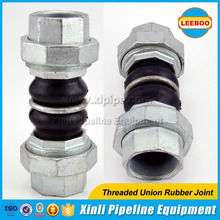 High pressure resistance threaded rubber joint manufacturer in China