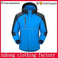 Winter sport coat waterproof breathable name brand skiing jacket