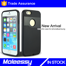 Compatible brand case for iphone and tpu+pc case for iphone 6/6s