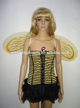 Chica de hadas de abejas sexy animal de disfraces disfraces pfac- 0097