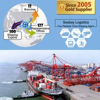 International sea freight forwarding ocean container shipping service rates to edmonton