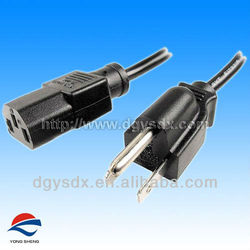 AC Power Cord with 5-15P Molded Plug UL/CUL Approval