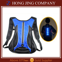 Led rechargeable travelling backpack, backpack travel