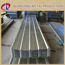 Galvanized color coated metal sheet for construction roofing and wall panles
