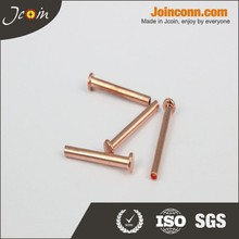 High quality metal chrome rivets for leather