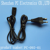 supply of manufacturers Italian standard power cable y type power cable eight tail power cable