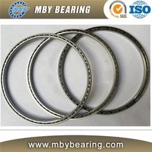 Large bore size thin section ball bearing KG250CP0 thin wall bearing