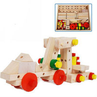 wooden puzzle toy assembly