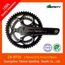 Fibra de carbono de bicicletas pedaleira 170/172.5/175mm