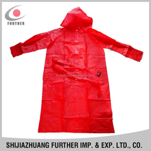 R-1056-6 shop eco-friendly pvc vinly backpack professional red women foul weather full length hat outdoor long rain suits