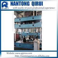 Four-colmn car number plate making machine Hydraulic Press machine