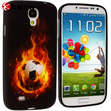 Fire Skull/football TPU Design Soft Case Cover for Samsung Galaxy S