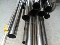 Welded Stainless Steel Pipe (304, 316, 316L, 201) bright finished