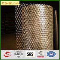Galvanized diamond wire mesh raised expanded metal,diamond pattern metal mesh