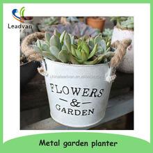 Garden decor metal french style garden planter