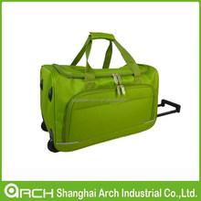 600D Fabric Trolley Duffle Bag Set