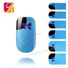 Guangzhou Ruiyan New Design Nail Wraps for Toes Eco-friendly metallic Nail Wrap Foil GDI-05