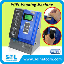 Hot Sale Small Business Owner Favorite Coin Operated Automatic Wifi Vending Machine