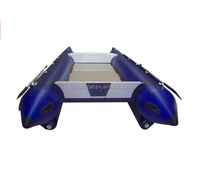 (CE) PVC material high speed inflatable fishing catamaran boats for sale