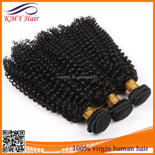 Fashionable kinky curly virgin hair extensions shanghai