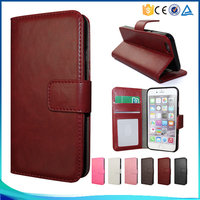 Simple style pu leather flip case for Sony Z2 ,for Sony Z2 high-end book style phone case