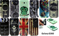 New camera dollars flag printing Flower TPU Case Cover for Samsung Galaxy Core Prime G360 G360H G360F