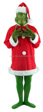 the Grinch halloween costume ,the grinch costume ,the grinch mascot costume