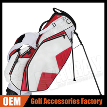 WHOLESALE CRAFTSMAN GOLF STAND BAG 2015 WHITE/RED/BLACK NEW STAND BAG