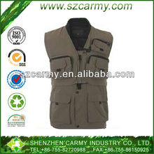 Men's Leisure Fishing or Photography Outdoor Quick-dry Work Vest