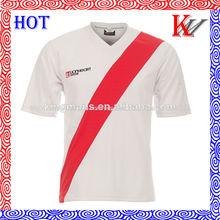 Por encargo de sublimación de poner su nombre de fútbol jersey, desgaste del fútbol jersey