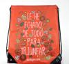 210D sublimation polyester drawstring bag